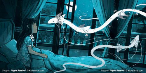Night Festival - Illustrated Book Kickstarter