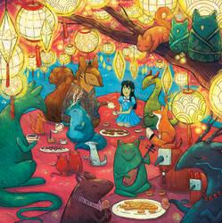 Night Festival- Illustrated Book Kickstarter - 03