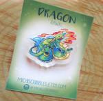Dragon Brooch Pin