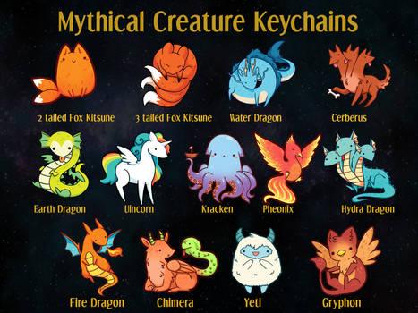 MythicalCreatureKeychains
