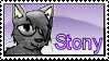 Stony stamp - The Thunder Cats by Catatouille101