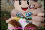 Nail Art Mario