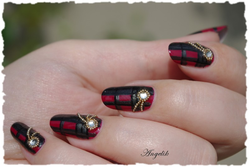 Nail Art Kilt by Angelik23