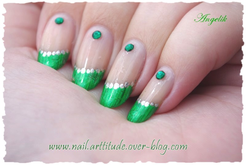 Nail Art Foil French Matrix by Angelik23 on DeviantArt