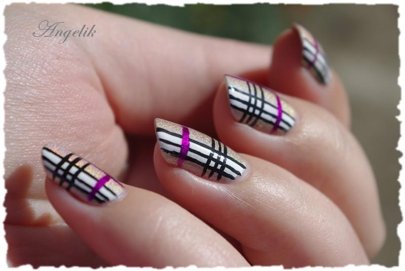 Nail art burberry by angelik23 on deviantart nail art burberry by angelik23 prinsesfo Gallery