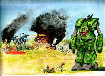 SCRAMBLE  --  Robotech by Emerald-Wolf13