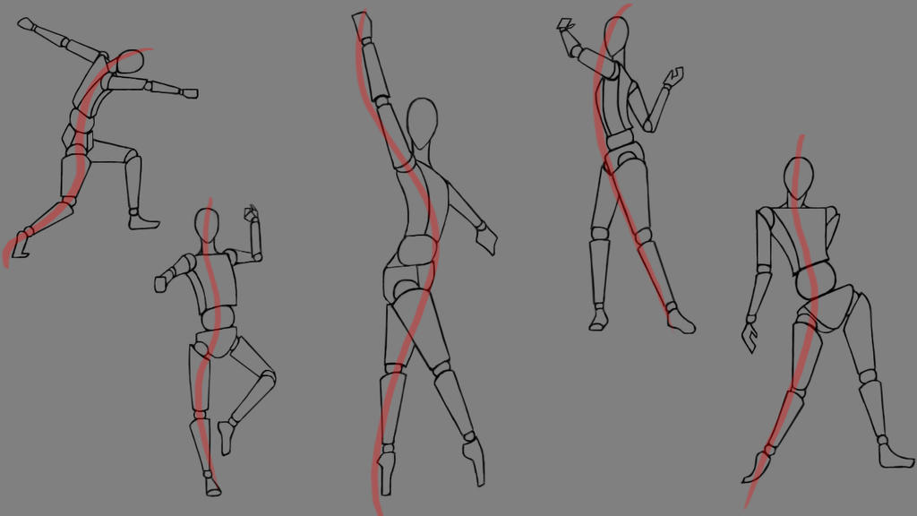 Figure Drawing Practice by Kadira7211 on DeviantArt