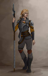 Nola - Sci Fi Character Concept Design
