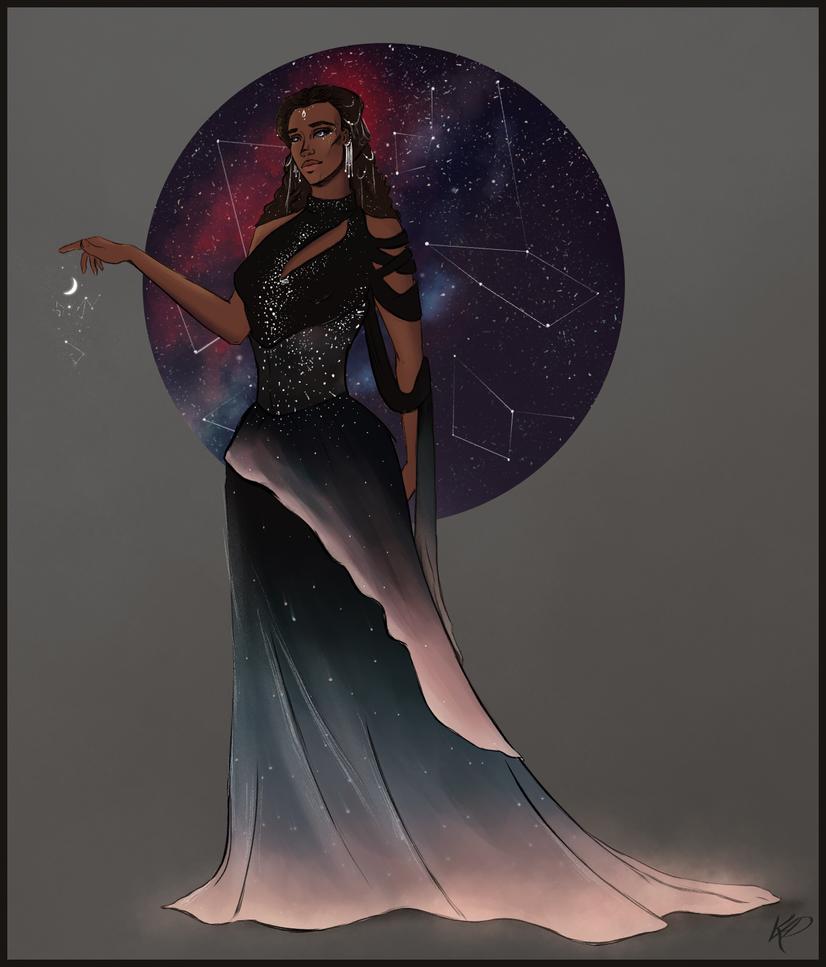 Naledi - Night Goddess by Kadira7211
