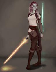 Tala Vir - Nautolan Jedi Character Piece by Kadira7211