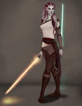 Tala Vir - Nautolan Jedi Character Piece