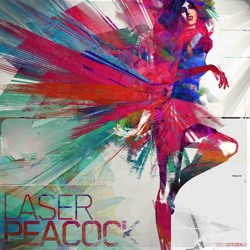 LASER PEACOCK by gartier