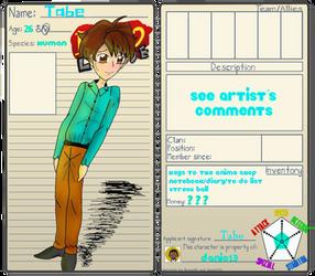 Tabe Byako Profile :NPC: by danio13