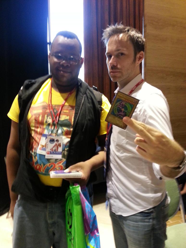 Pic with Michael Sinterniklaas at A-kon 2014 by danio13