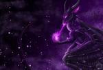 Purple Flame by Dark-Spine-Dragon