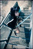 Black Rock Shooter cosplay by Kitana123