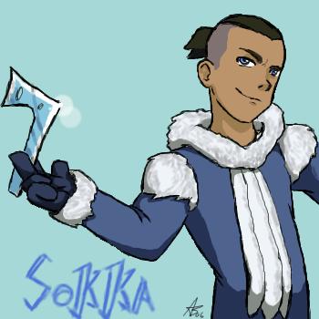 Sokka by Wolfrun