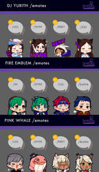 Twitch Emote Commissions