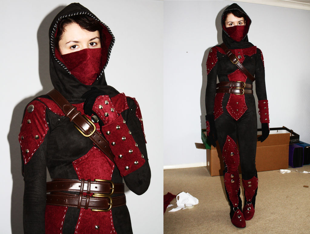 Dark Brotherhood Cosplay Progress