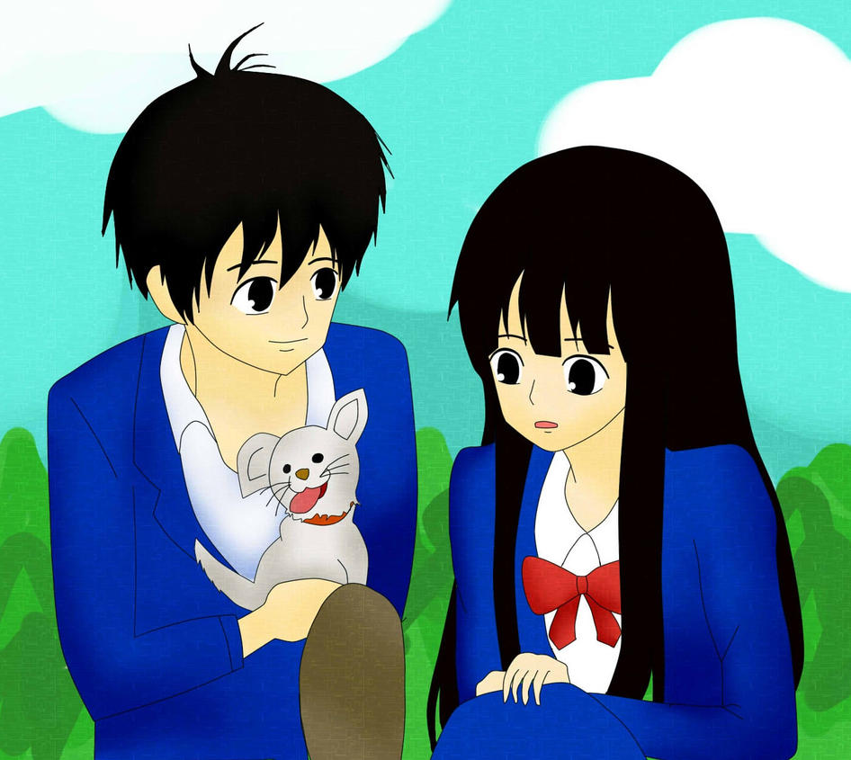 kazehaya and sawako by aliehs004