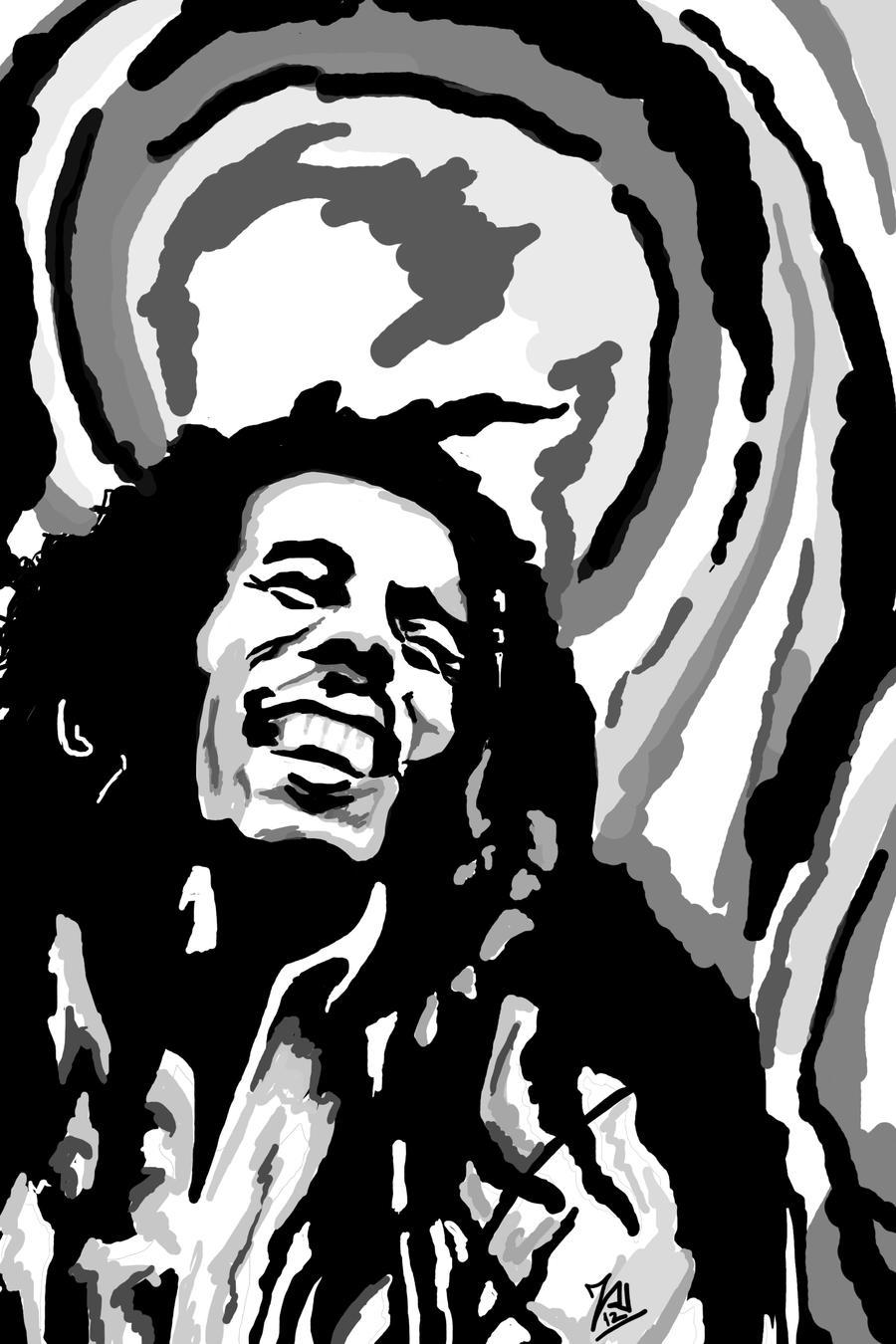 Bob Marley by Taiel