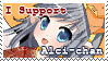 Support Alci-chan Stamp by NigthmareSakura