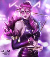 KDA Evelynn by Tr3yArt