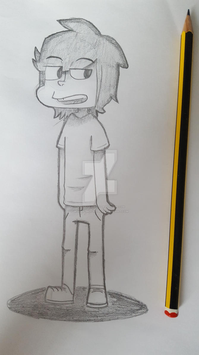 Just a pencil  by SPRINT-SKYCROSS
