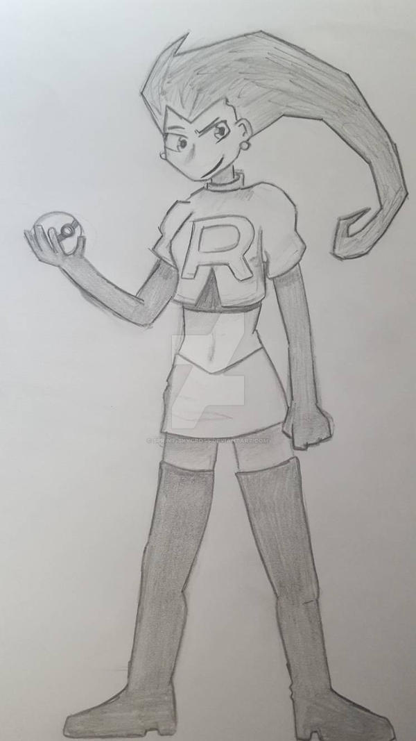 Team Rocket Jessie by SPRINT-SKYCROSS