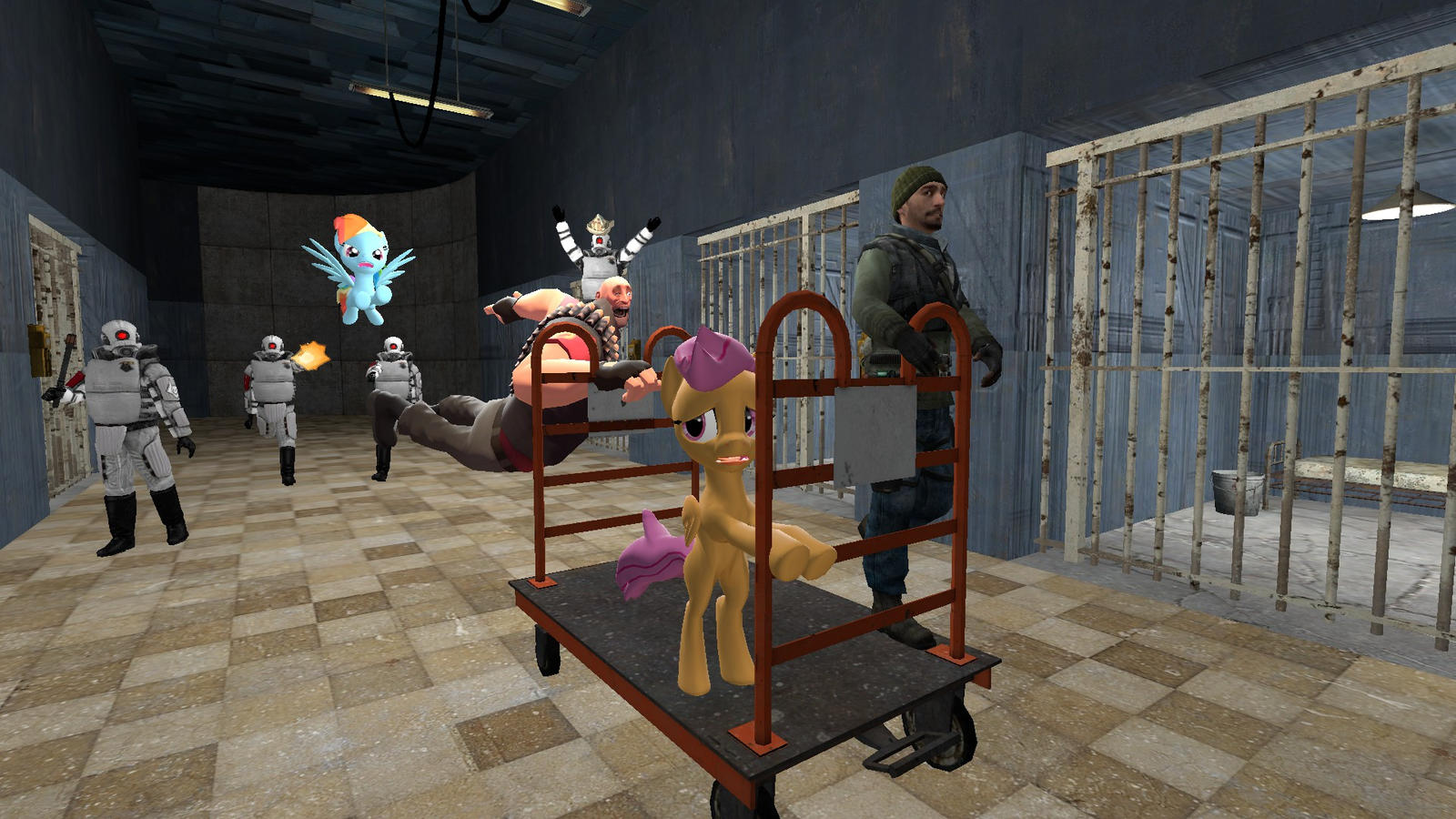Escaping The Rainbow Factory By Thekingofvideogame10 On