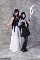 Mistress 9 and Hotaru by AmmieChan