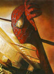 Spiderman 2002 Painting by AmmieChan