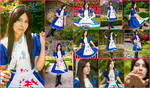 Alice Madness Returns Default Dress Collage