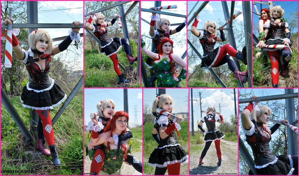 Harley Quinn Arkham Knight Collage #2 by AmmieChan