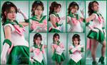 Super Sailor Jupiter Collage