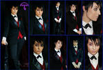 Penguin/Oswald Cobblepot Gotham Cosplay Collage