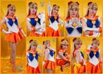 Super Sailor Venus Cosplay Collage