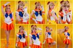 Sailor Venus Cosplay Collage