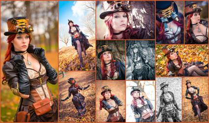 SteamPunk Collage V.2 by AmmieChan
