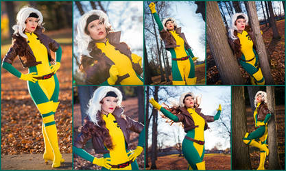Rogue Cosplay Collage