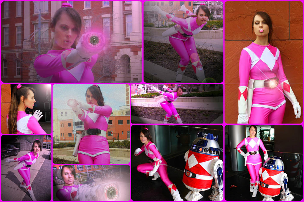 Pink Ranger/Kimberly Hart Cosplay Preview by AmmieChan