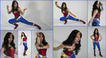 Wonder Woman Cosplay Collage