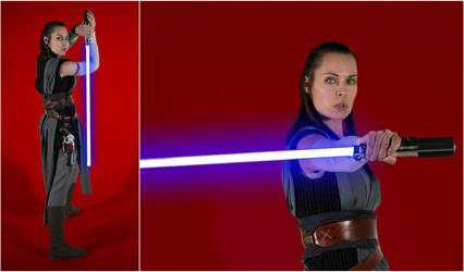 Rey The Last Jedi Cosplay Collage
