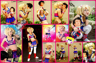 Lollipop Chainsaw Juliet Cosplay Collage