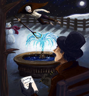 What if Jack Frost Inspired Peter Pan (Commission)