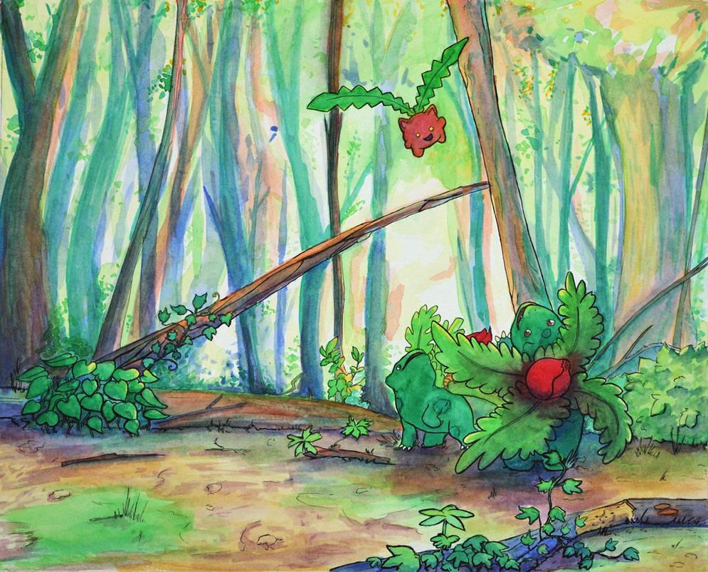Ivysaur For Ivy (commission)
