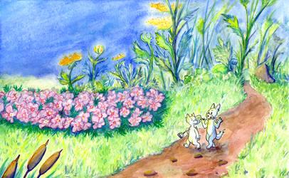 Flowerfields by Lorenith