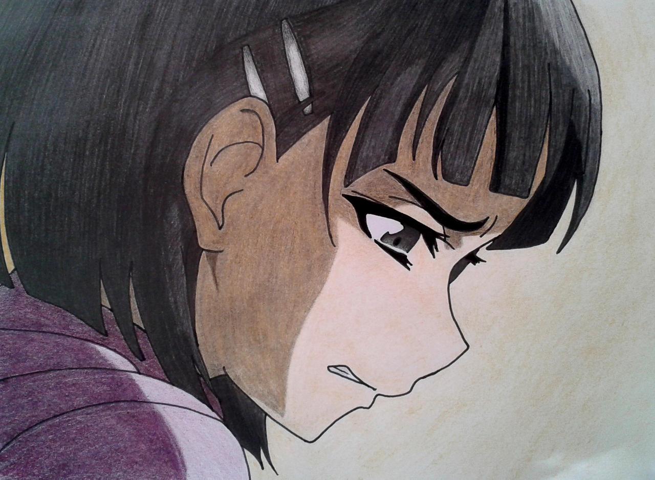 Suguha Kirigaya (Coloured) Sword Art Online by ChanandlerBong777 on DeviantArt