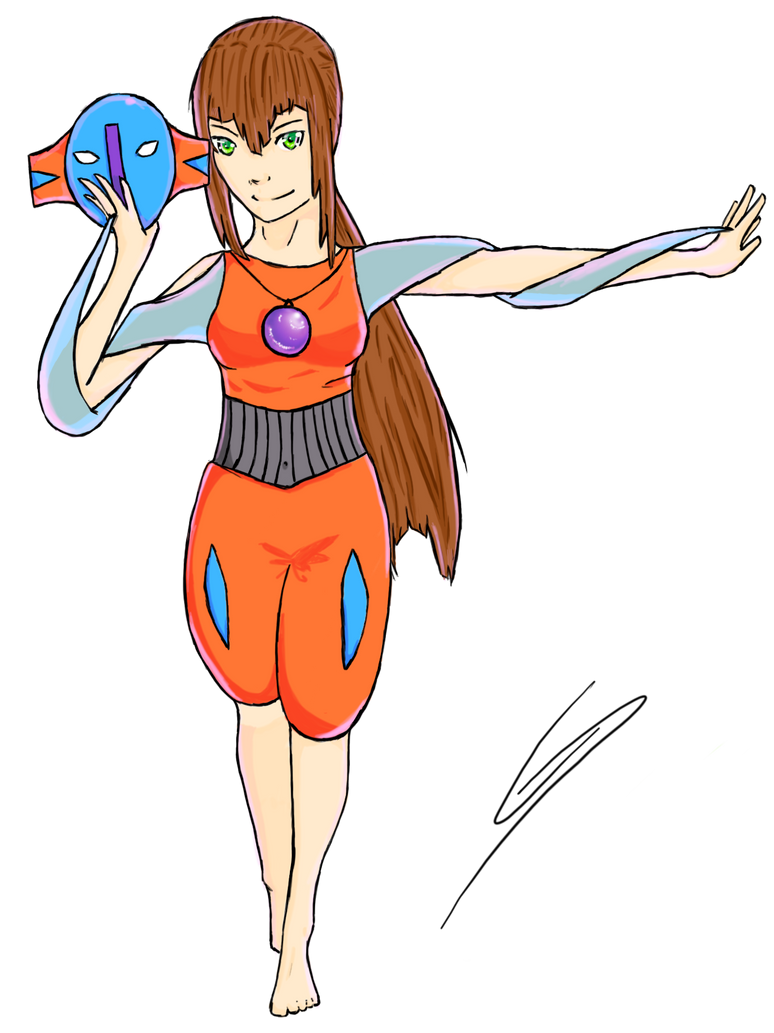 Deoxys Gijinka Normal Forme by Drawing2life on DeviantArt