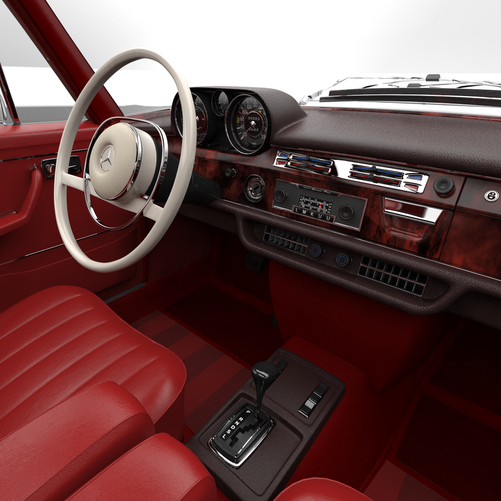 Mercedes 300sel 6 3 W109 Interior Shot 2 By Splicer436 On